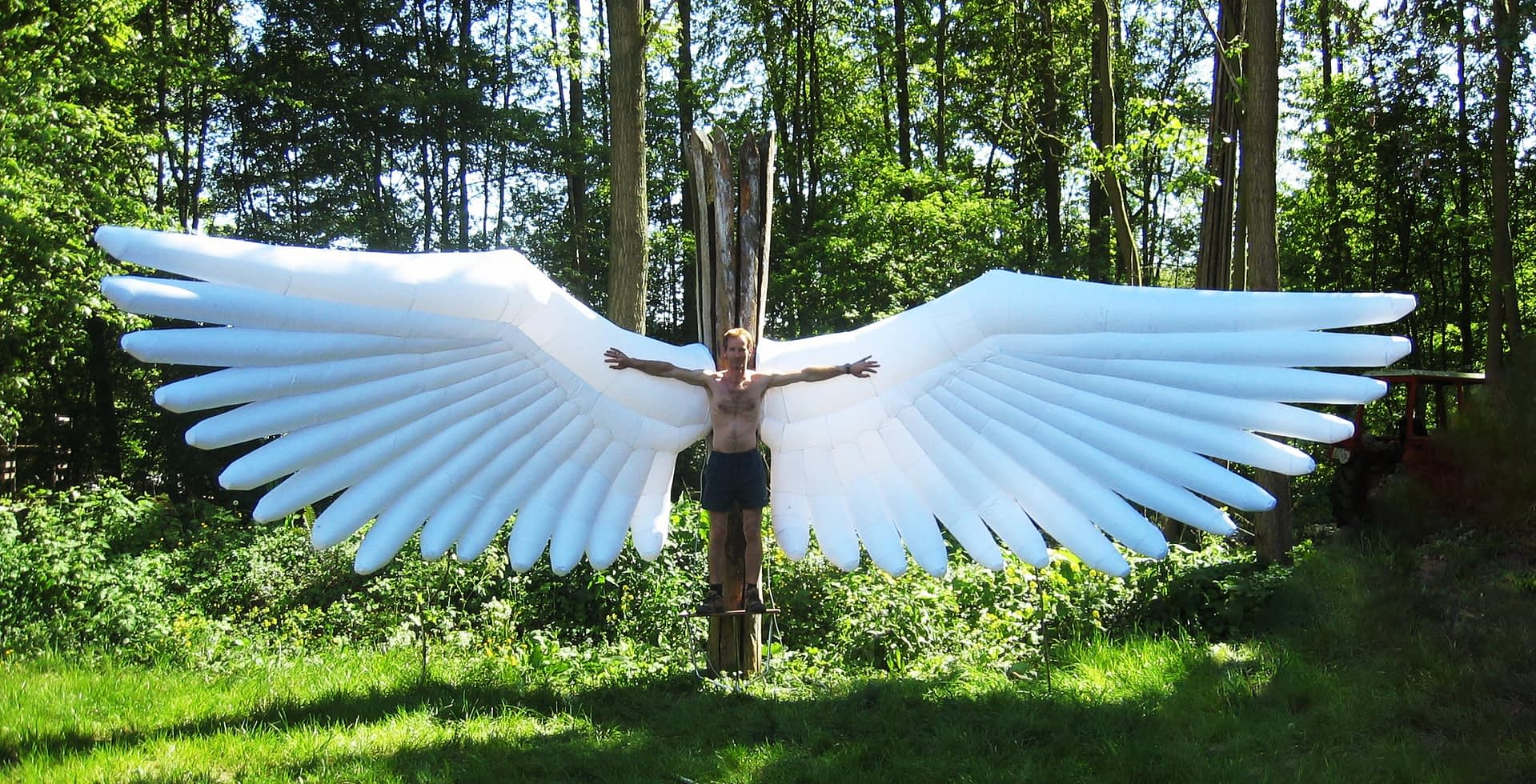 8m inflatable wings Airworks Rentals