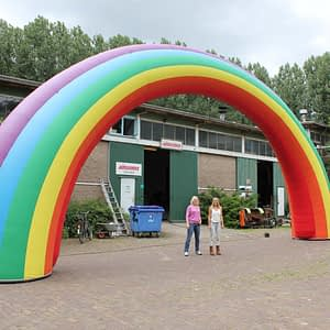 15m rainbow inflatable