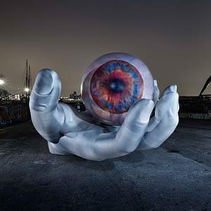 2m printed eyeball