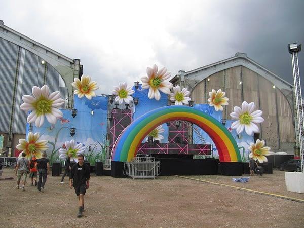 12m rainbow and lillies