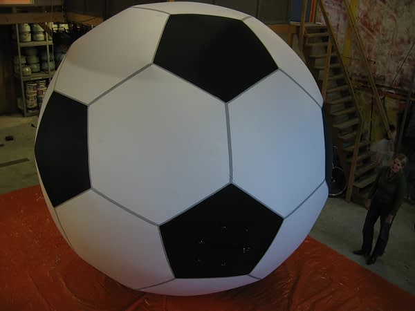 4m inflatable football Airworks Rentals